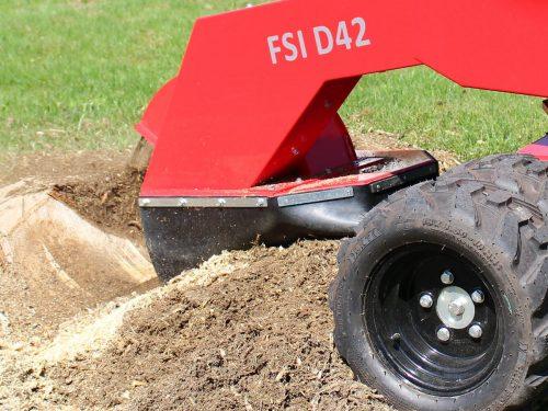 FSI Stubbenfräse D42 / D42 TRACK