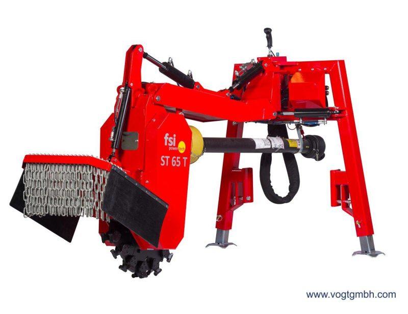 FSI Stubbenfräse T65 für den Traktoranbau