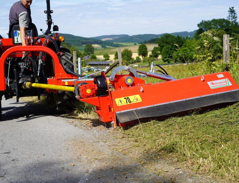 Dragone Road MTL Seitenmulcher für Traktor