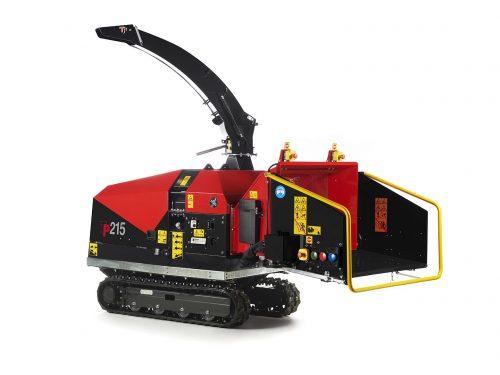 TP Holzhacker Holzschredder Kettenantrieb 215 TRACK
