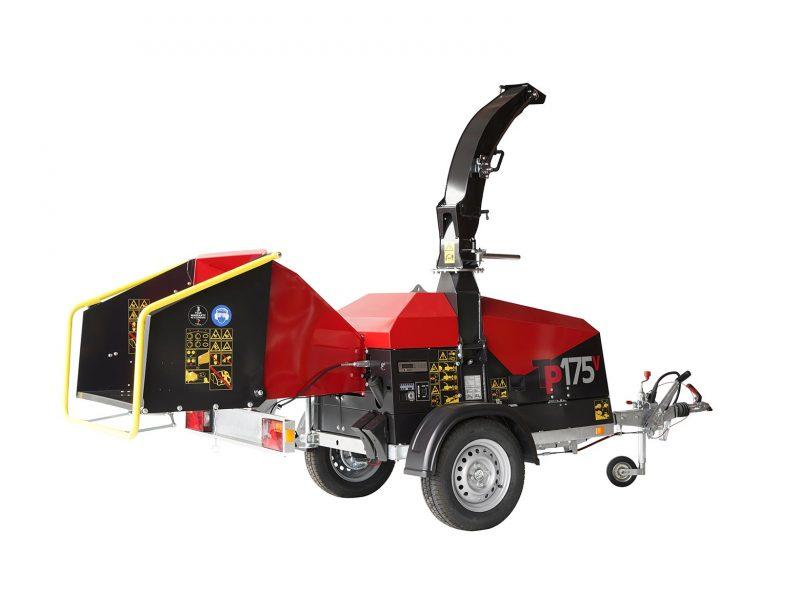 TP Holzhacker Motorhacker PKW-Fahrwerk 175 MOBILE