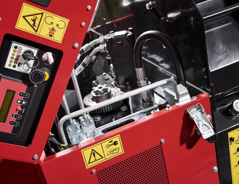 TP Holzhacker Motorhacker mit PKW-Fahrwerk 280 MOBILE