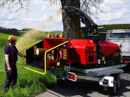 TP Holzhacker PKW Fahrwerk TP215 MOBILE