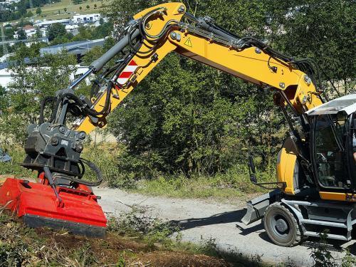 Dragone Mulchkopf für Bagger hydraulisch
