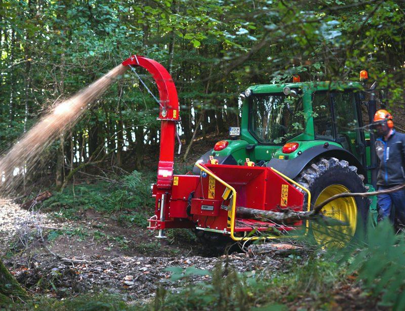 TP 230 PTO Holzhacker mit Zapfwellenantrieb für Forst Traktor