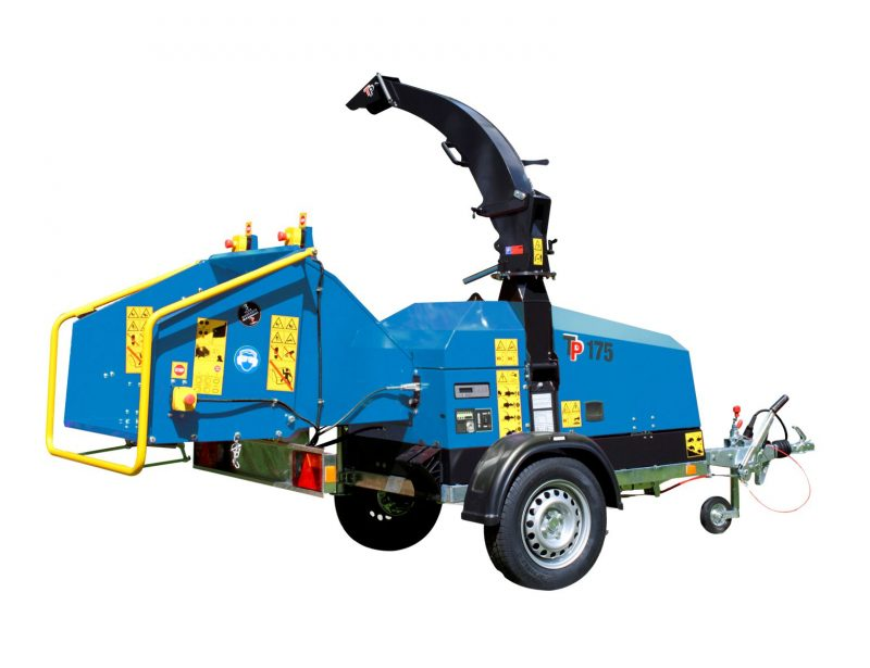 TP Holzhacker mit Elektromotor