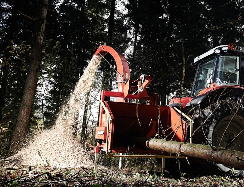 TP 230PTO Holzhacker Forst