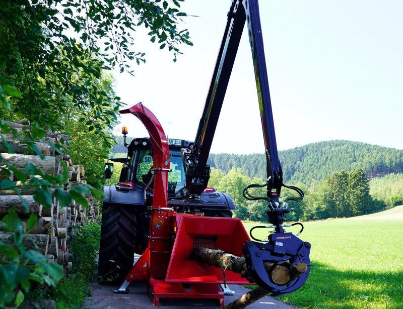 TP 250 Holzhacker mit Kranbeschickung