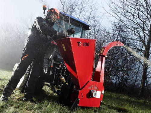 tp Holzhacker für Kleintraktor Zapfwellenantrieb