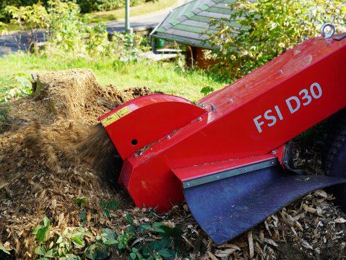 FSI Stubbenfraese Baumstumpffraese D30
