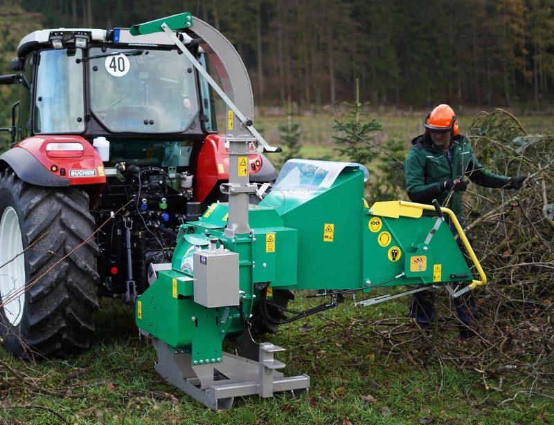HS150V Holzhacker Holzschredder Holzhaecksler