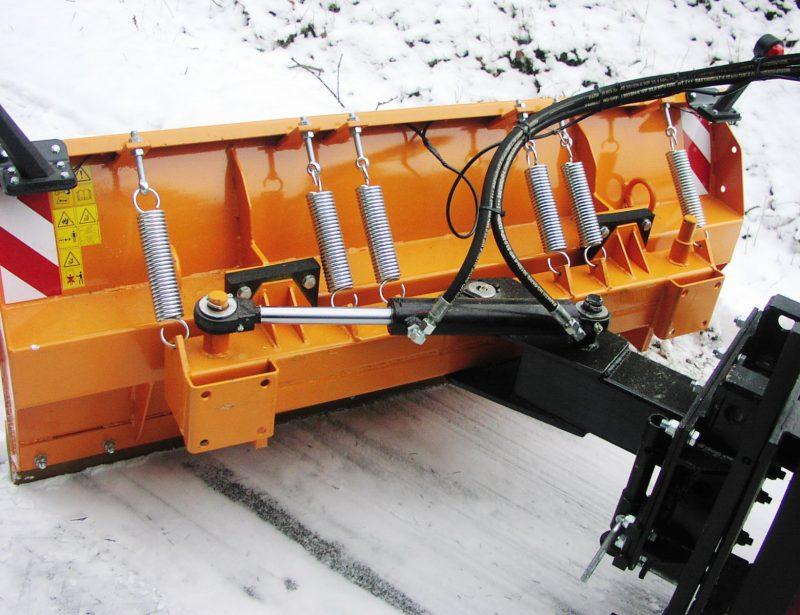 AVTEC KRK Schneeschild für Stapler und Radlader