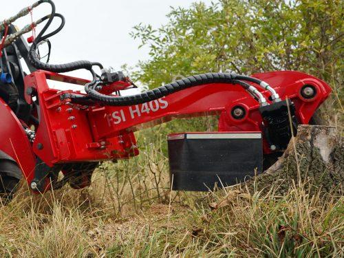FSI Baumstumpffräse für Radlader