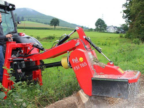 Stubbenfräse für den Traktoranbau FSI T65