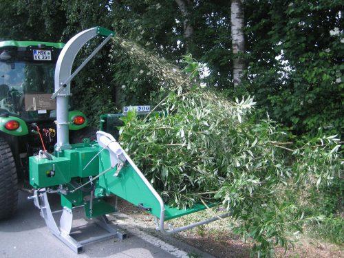 Holzhacker für Traktor Zapfwelle HS 150