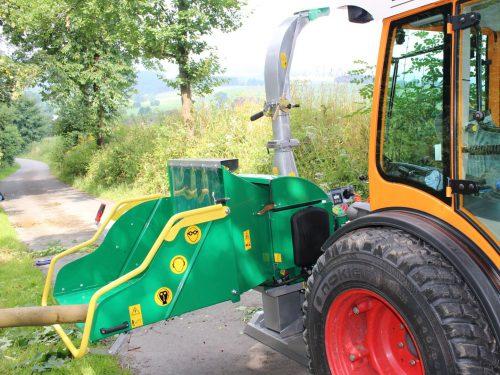 HS 170 KV Holzhacker für Kleintraktor mit Ketteneinzug