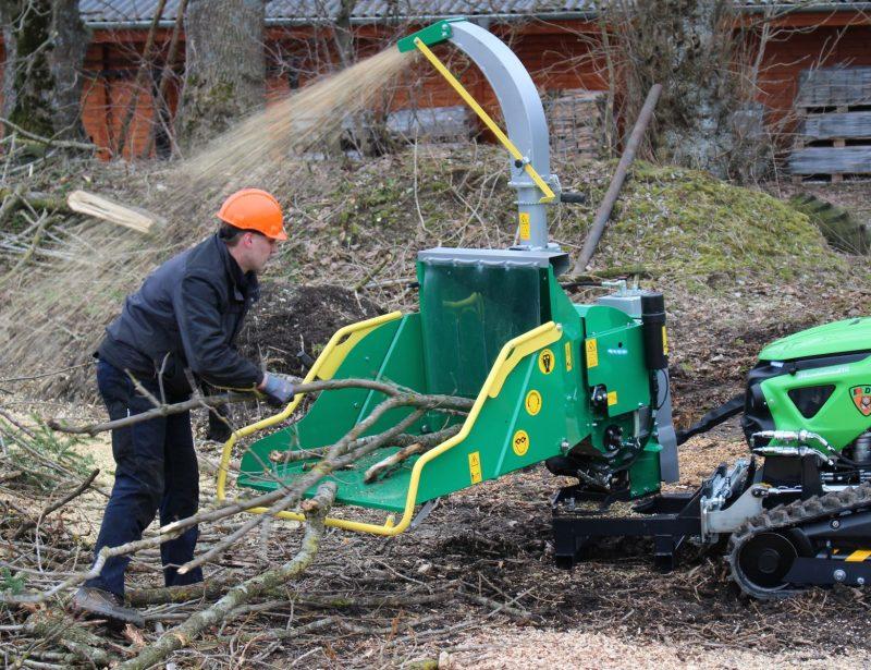 HS hydraulischer Holzhacker 170 HY