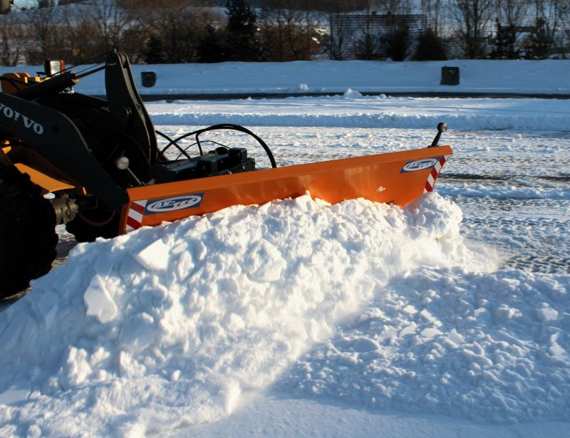 Schneeschild für Radlader von AVTEC