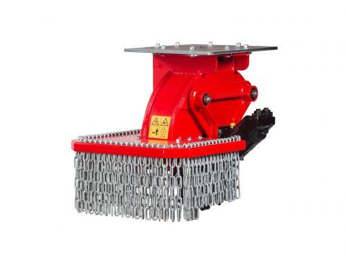 Stubbenfraese Baumstumpffraese Bagger FSI H65
