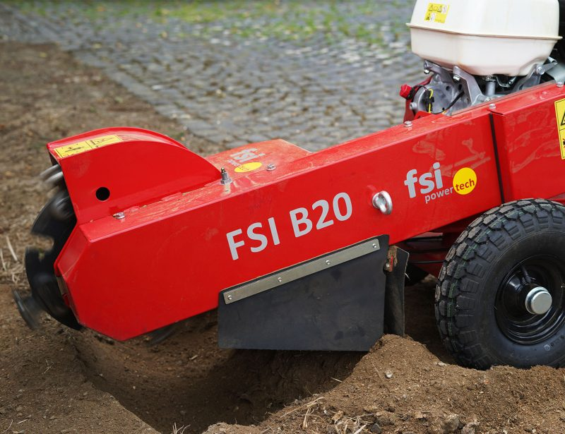 Stubbenfraese Baumstumpffraese Bagger FSI B20