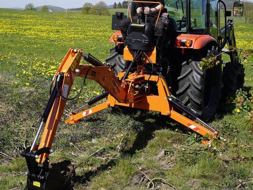 DIGGER Heckbagger Anbaubagger BA fuer Traktor