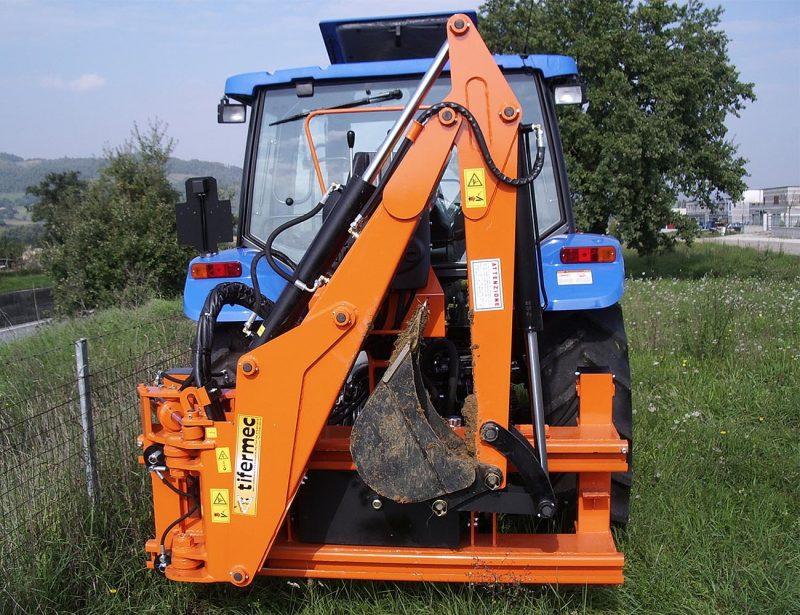 DIGGER TIX 85 Heckbagger Anbaubagger für Traktor