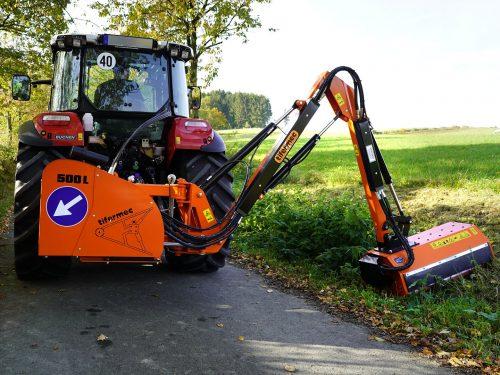 Tifermec Auslegemulcher für Traktor Serie L