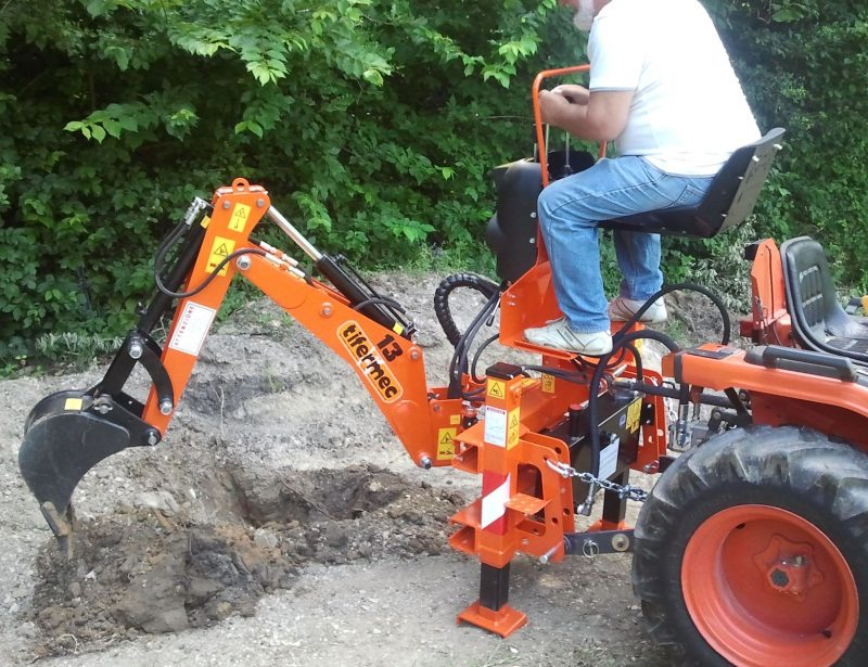Digger Anbaubagger für Traktor BA