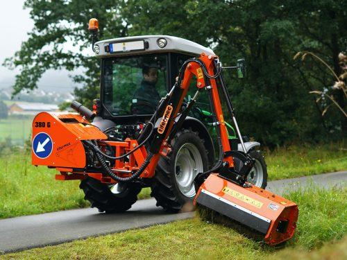 Tifermec 380g Auslegemulcher für kleine Traktoren