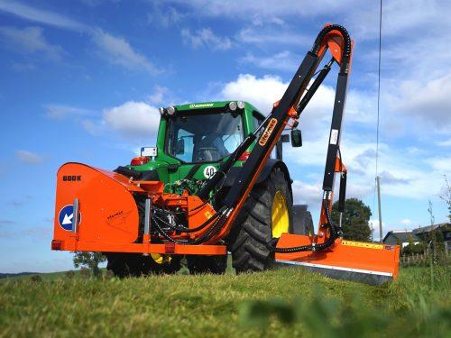 Tifermec Auslegemulcher für Traktor 600k