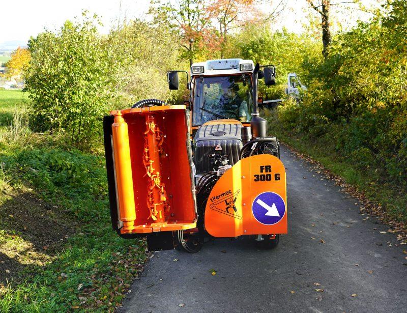 Frontausleger für Kleintraktor Tifermec FRG