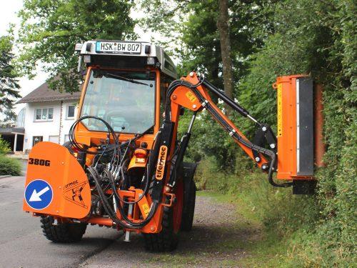 Auslegemulcher für Kleintraktor Tifermec G