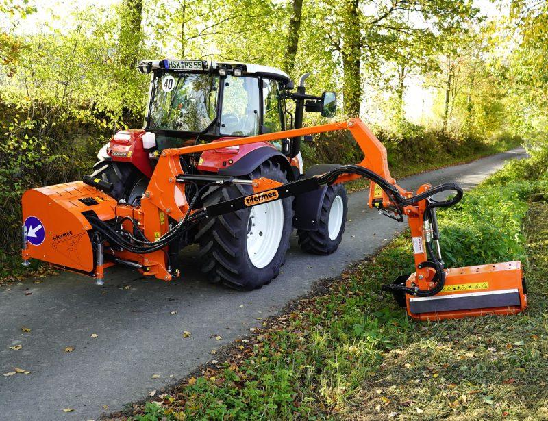Tifermec Geo Vision Aulegemulcher für Traktor