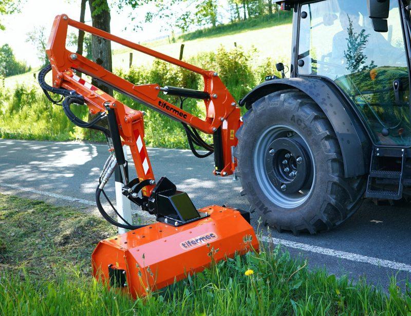 Tifermec Geovision Auslegemulcher für Traktor