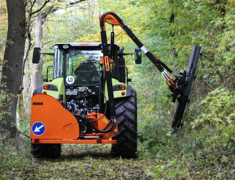 Tifermec Auslegemulcher Böschungsmulcher für Traktor