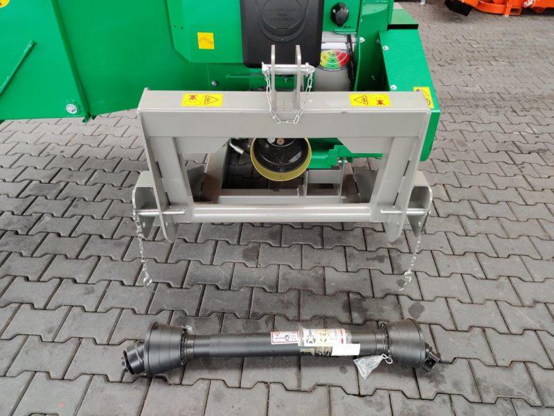 HS225V Profi Holzhacker Holzschredder Vorfuehr