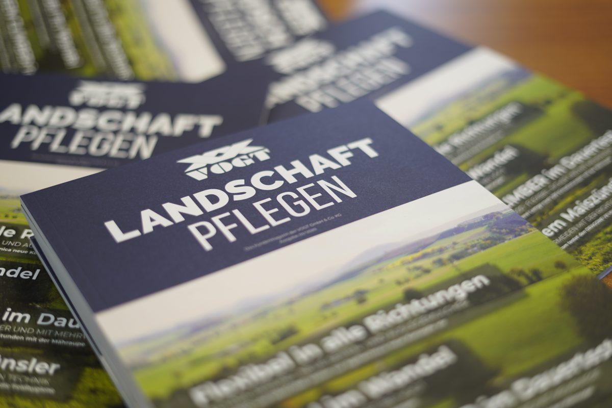 VOGT Kundenmagazin Landschaft Pflegen 2020