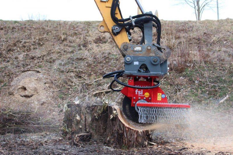 FSI hydr Stubbenfräse Baumstumpffräse H65