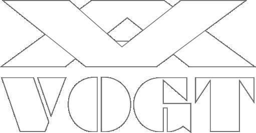 VOGT Logo weiß