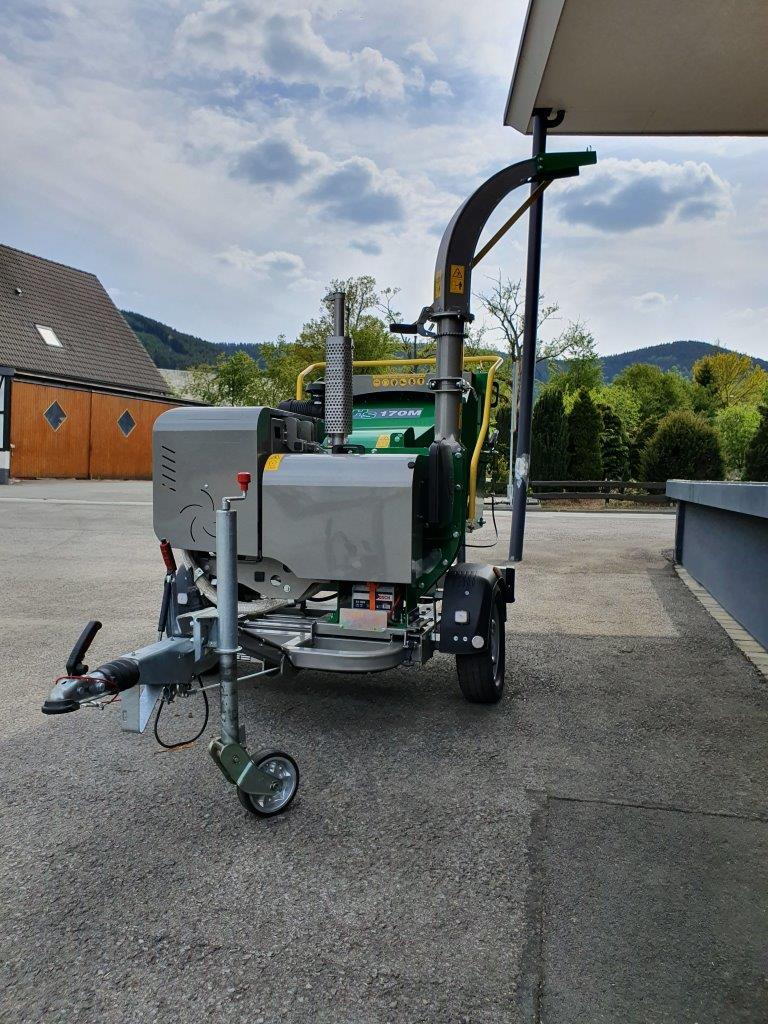 HS170M Holzhacker Holzhaecksler Holzschredder Vorfuehr