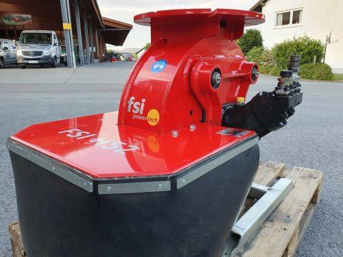 FSI hydraulische Stubbenfraese Baumstumpffraese H52