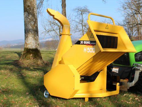 JoBeau Hydr Holzhacker Holzhaecksler Holzschredder H500