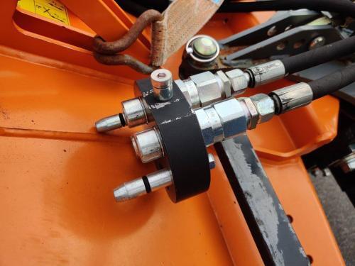 MDB Besen Kehrmaschine zur MDB Funkraupe