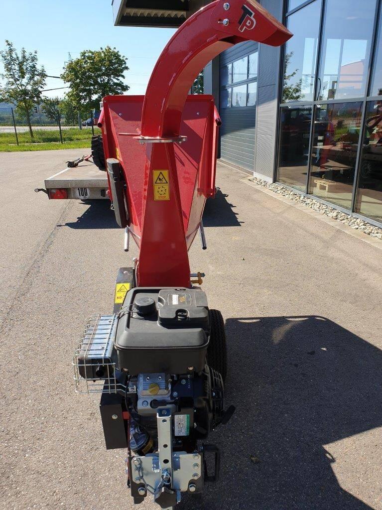 TP100M Holzhacker Holzschredder Trommelhacker Radantrieb