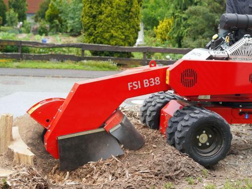 FSI B38 Baumstumpffräse