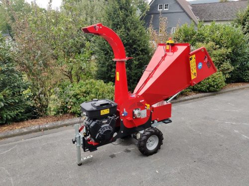 TP100 Mobile Holzhacker Motorhacker Radantrieb