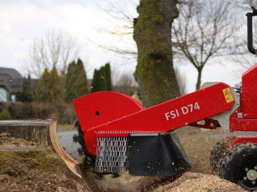 FSI B74 Stubbenfräse Baumstumpffräse Wurzelfräse Stockfräse mit Dieselmotor