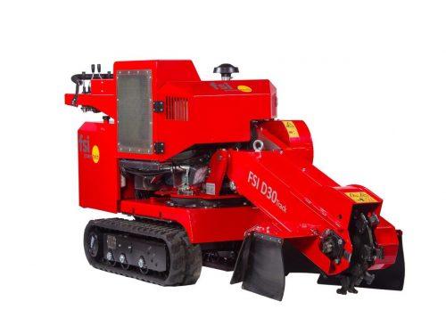 FSI D30 TRACK Stubbenfräse Baumstumpffräse Wurzelfräse Stockfräse mit Dieselmotor