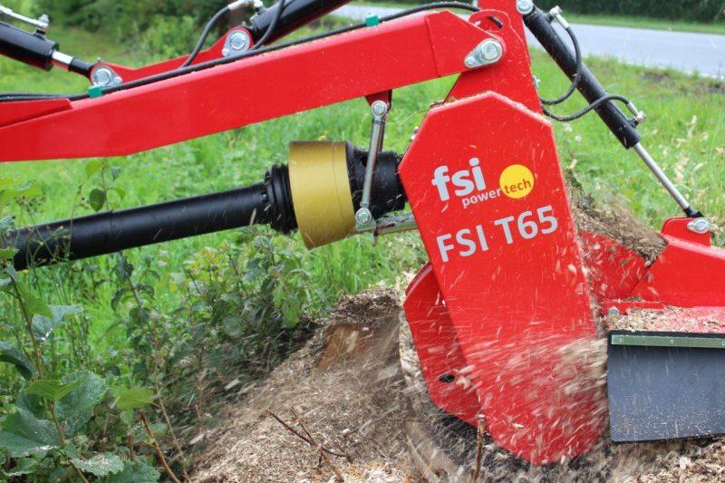 FSI T65 Stubbenfräse Baumstumpffräse Wurzelfräse Stockfräse für Traktor