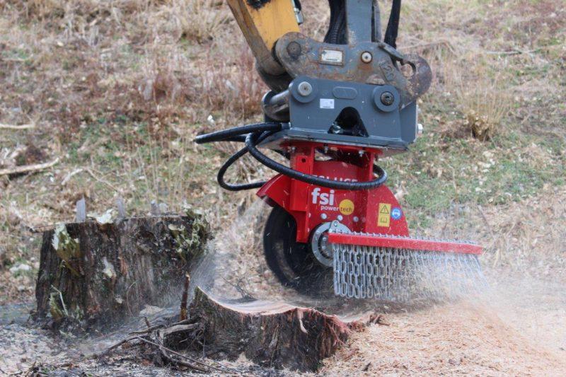 FSI hydr. Baumstumpffräse H65